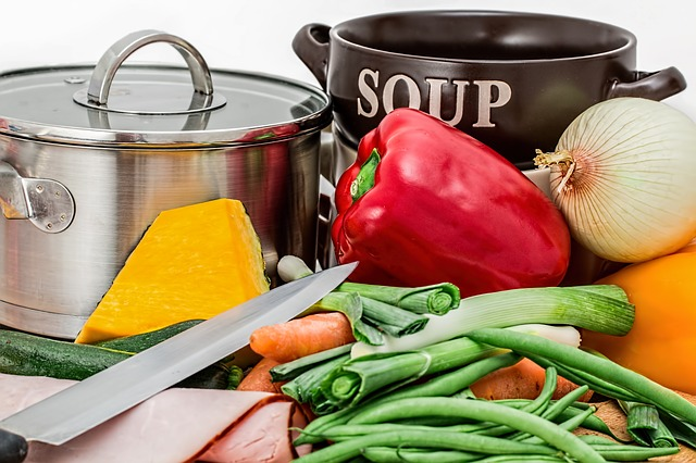 koken met voedselpakket