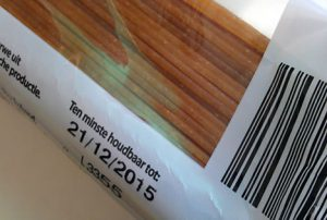 THT en TGT datum Voedselbanken